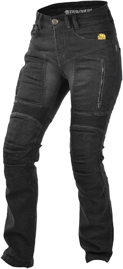 Trilobit Motorrad Damen Jeans Schwarz 28 Auto