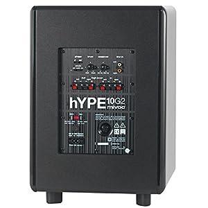 Mivoc Hype 10 G2 HiFi Aktiv Subwoofer Schwarz 300W 20 bis 180Hz