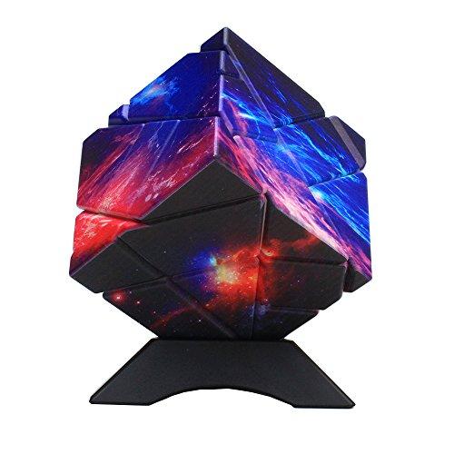MZStech Ghost Cube 3x3x3 Cubo Magico 3D Puzzle Cube Limited para Colección (Cielo Estrellado)