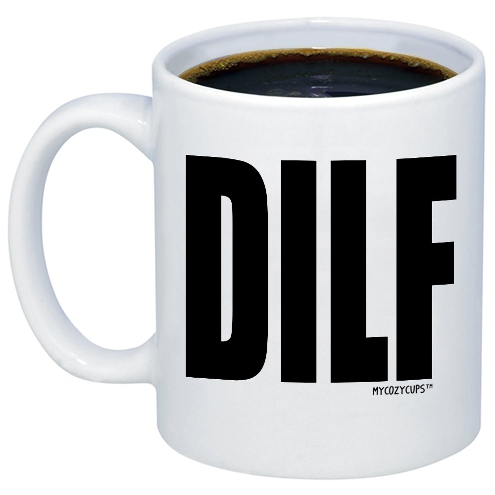 MyCozyCups Husband Gifts - DILF Coffe Mug - Funny Sarcastic 11oz Gift Idea Cup For Dads  sc 1 st  Amazon.com & Best Husband Christmas Gifts: Amazon.com