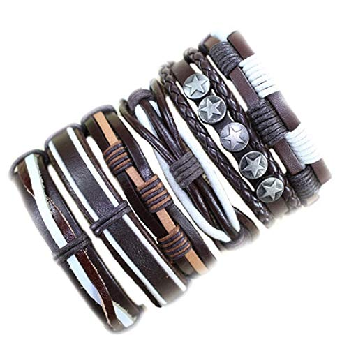 ZUOZUO Lederarmband Handmade Großhandel Handgefertigte Armbänder Fallen Verstellbare Tasche Lederarmband Männlich