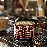 Retro Ceramic Ins Hanging Ear Printing Tazza Da Caffè Può Essere Impilata Coppia Creativa Tazza Da Colazione Tazza Da Latte 4