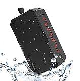 Soundance IP65 wasserfeste portable Powerbank Bluetooth Lautsprecher fr die Dusche, bis zu 12...
