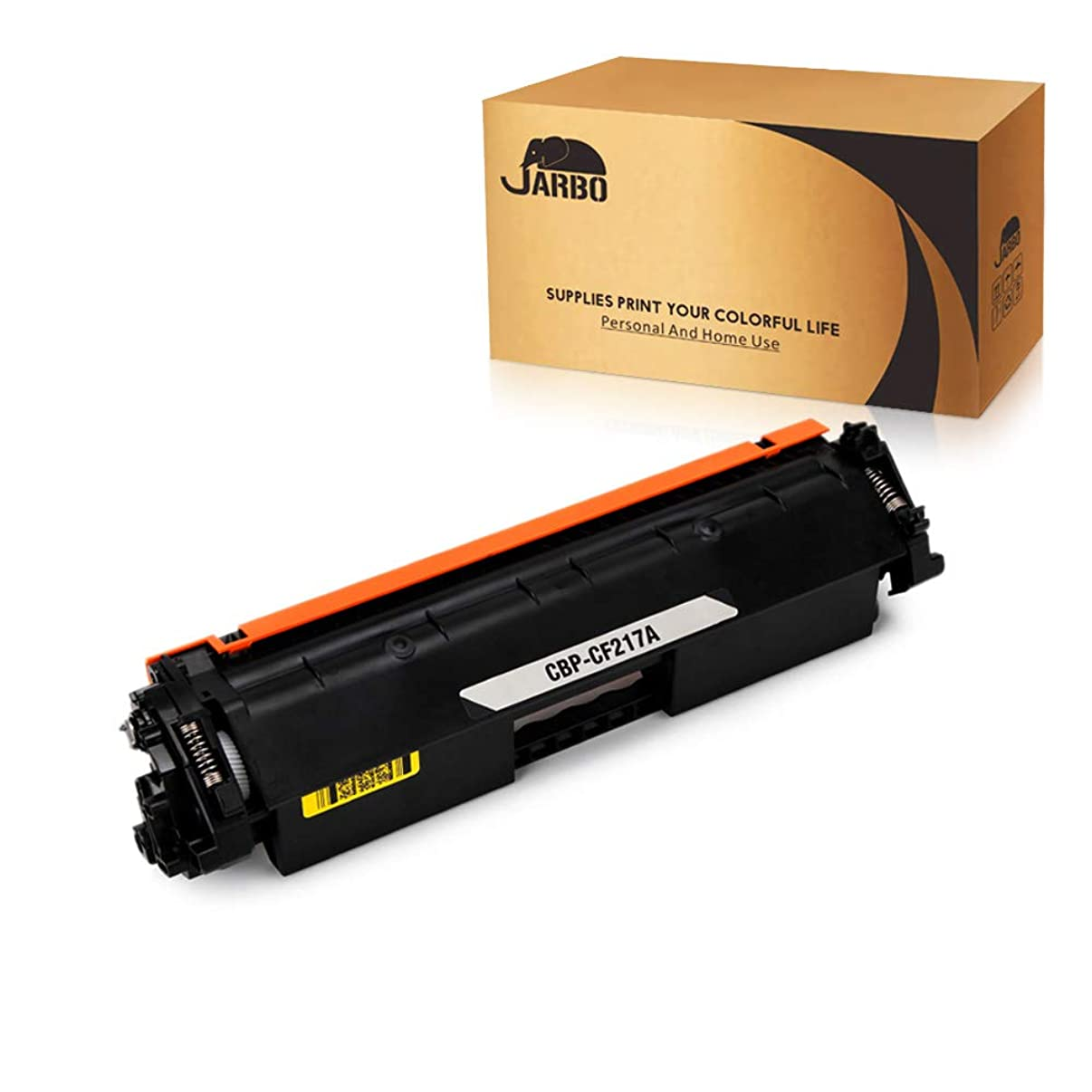 JARBO Compatible Toner Cartridges Replacement for HP 17A CF217A Toner Cartridges High Yield, 1 Black, Use with HP Laserjet Pro M130fw M102w M130nw M130fn M130 M102 M102a M130a Printer