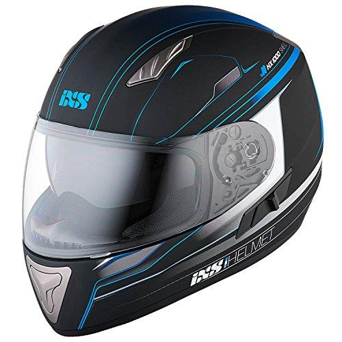 IXS X-Helm HX 1000 FORK, Größe:Small, Farbe:schwarz-blau matt