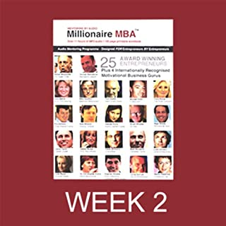 Millionaire MBA Business Mentoring Programme, Week 2 cover art