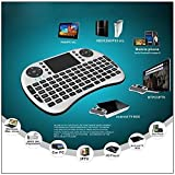 EVALUEMART® Mini 2.4GHz Wireless Touchpad Keyboard with Mouse (with Backlight) for PC/PAD/360XBox/PS3/Google Android