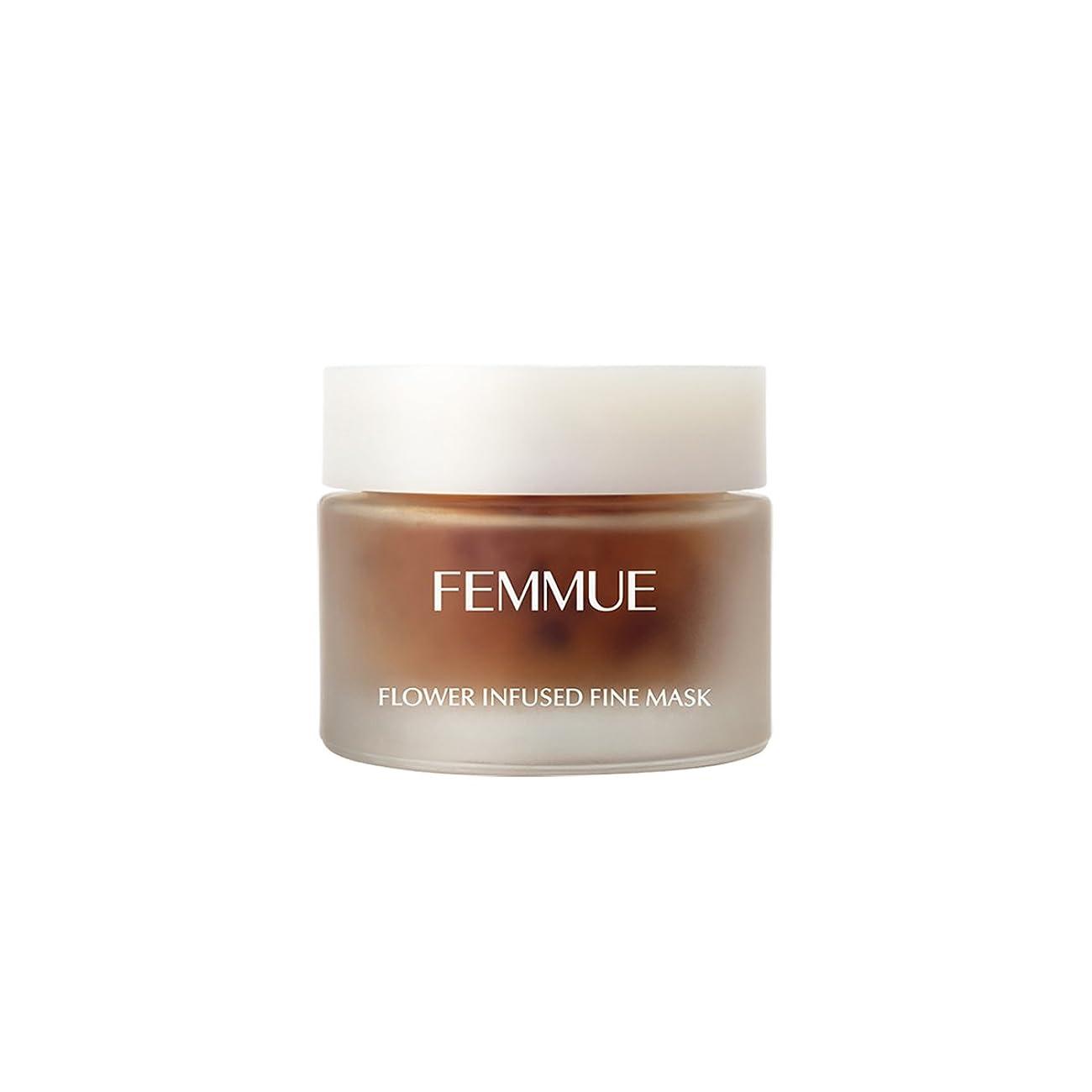 注入基本的な合意FEMMUE(ファミュ) フラワーインフューズド ファインマスク <洗い流す保湿マスク>50g