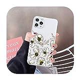 Flor diseño de moda patrón de lujo teléfono caso caramelo color para iPhone 6 7 8 11 12 s mini pro X XS XR MAX Plus-a2-iphone7or8