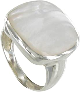 Best square mother of pearl ring Reviews