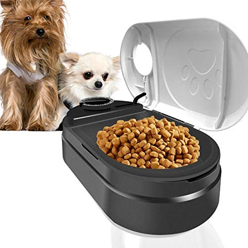 Automatic Cat Feeder Pet Food Dispenser with Digital Clock and Portion Control Cat and Small product image