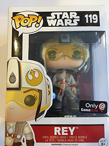 Funko Pop! Star Wars Rey #119 (With X-Wing Helmet Exclusive) by FunKo