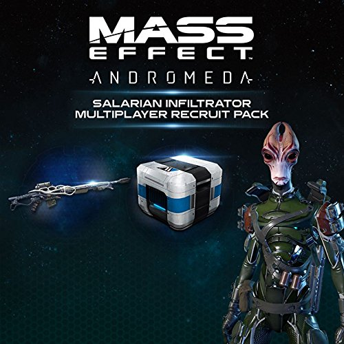 Mass Effect Andromeda - Multiplayer Recruit Pack 3: Salarian Infiltrator DLC | PC Download - Origin Code