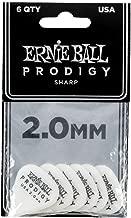 Ernie Ball 2.0mm White Sharp Prodigy Guitar Picks (P09341)