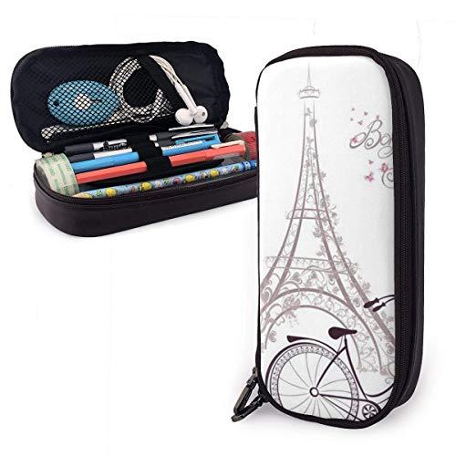 Make-up Brush Bag, toren en fietstas voor schrijven, geschikt voor potloden, voor feestelijke zakenreizen, 20 x 9 x 4 cm