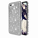 TYWZ Scintillement Coque pour iPhone 8 Plus/7 Plus,Ultra Mince Slim Brillant Diamant Glitter Strass...