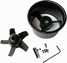 JFtech 64mm Duct Fan Unit 5-Blade Propeller Prop Kit Set for RC Model Ducted Fan EDF Jet Airplane Aircraft