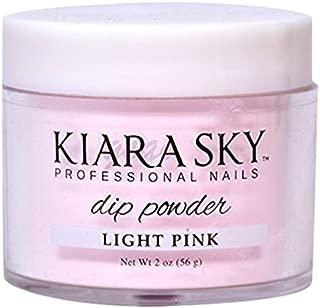 Kiara Sky Dip Powder, Light Pink, 56 Gram
