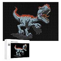 300ピース ジグソーパズル パズル 木製パズル 飾り画 怒っている恐竜 参考図付き 減圧玩具 頭脳練習 創造力 知育 子供 大人 ギフト プレゼント puzzle