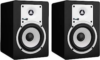 Fluid Audio C5BT: Bluetooth Active Studio Monitor, aptX, TRS, Optical Input, subwoofer Output. 2 x 20W