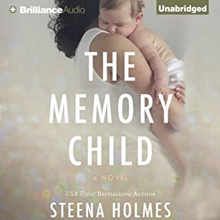 The Memory Child audiobook cover art