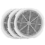 iSingo GL2103/900S True HEAP Filter Replacement Fit for RIGOGLIOSO and JINPUS Air Purifier Model GL2103 and LTLKY Air Purifier Model 900S, True HEPA Filters and Activated Carbon Filters(3-Pack)