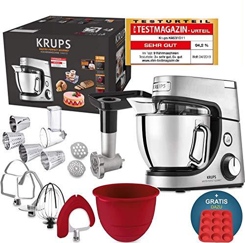 Robot de cocina Krups Premium 17 pzs., bol acero inox. 4,6 l,...