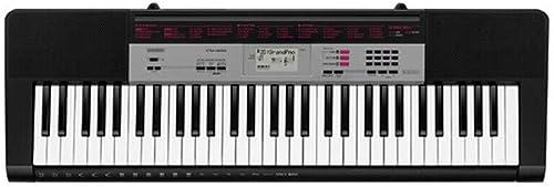 LINGLING-Tastatur Tastatur Intelligente APP, Die Das Musikinstrument Der Kinder 61 Schlüssel-Jungen Und mädchen-Geschenke Unterrichtet (Farbe   Schwarz
