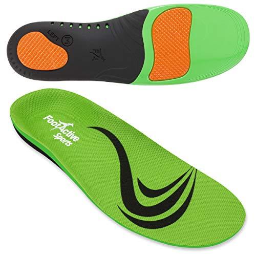 FootActive SPORT - Einlegesohlen für Sport, Freizeit und Beruf, Green, 36 - 38 (X-Small)