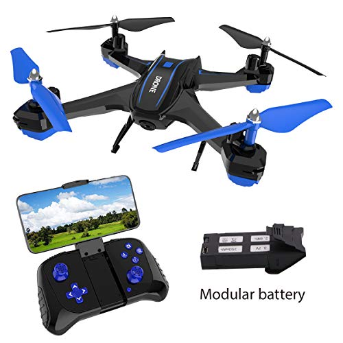 GILOBABY FPV RC Drone with 720P HD Camera Live Video 2.4GHz 6-Axis...