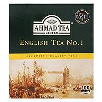 AHMAD TEA English Tea No.1-100 teabags, AHMAD TEAイングリッシュティーNo. 1-100ティーバッグ