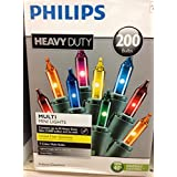 Philips Heavy Duty 200 Bulbs Multi Color Mini Lights [並行輸入品]