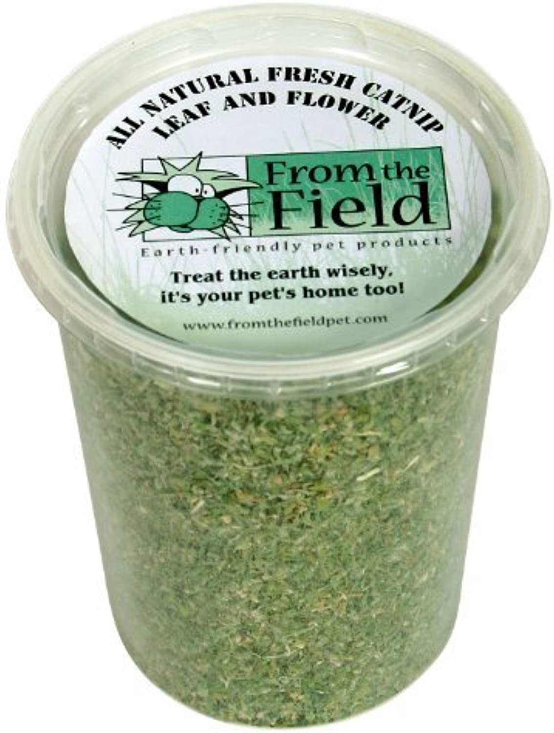 From The Field 3.5Ounce Catnip Leaf and Flower Tub by From The Field