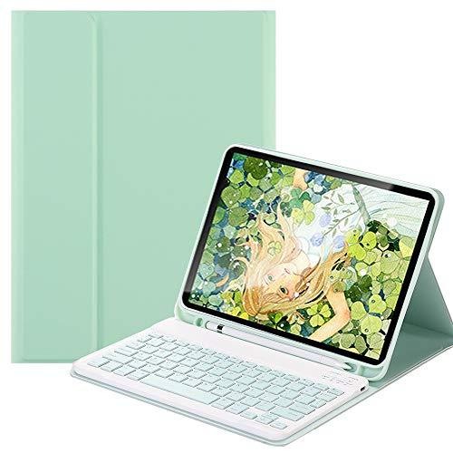 SsHhUu Funda con Teclado para Nuevo iPad Pro de 11