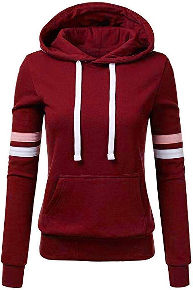 Shakumy Women's Teen Girls Long Sleeve Casual Basic Lightweight Hoodies Pullover Sweatshirts Tops Sweaters Shirts Blouse