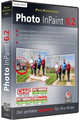 Photo InPaint 6.2. Für Windows 8/ Windows 7/ Windows Vista / Windows XP (jeweils 32- & 64-Bit)
