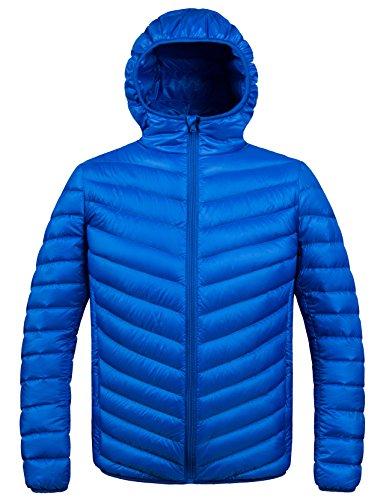 Blue Down Jacket Mens
