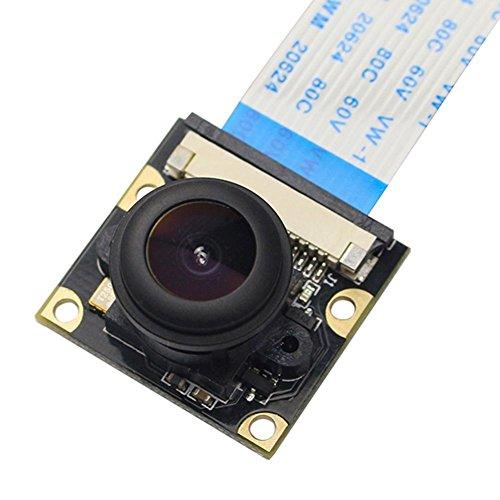 Thunder luz 1080P Cámara Junta Módulo 5MP 160° ojo de pez para Raspberry Pi