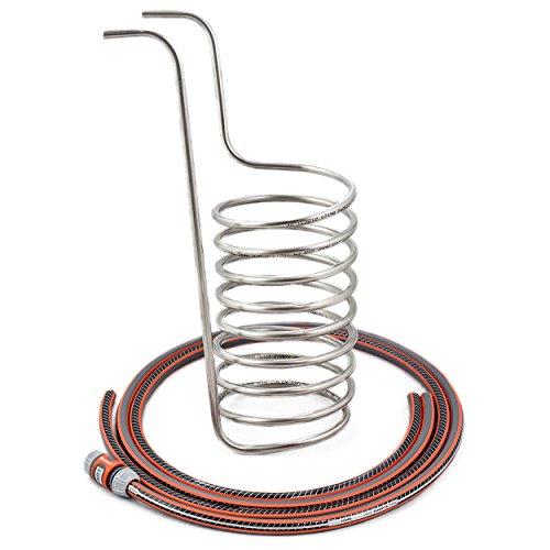 BIELMEIER Kühlspirale Edelstahl mit Gardenia Anschlüssen / 040006
