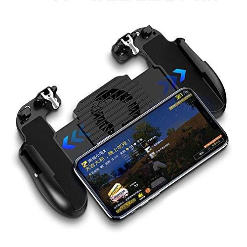 Zhebei Joystick juego tablero con ventilador de refrigeración juego tablero controlador de juego móvil PUBG juego board