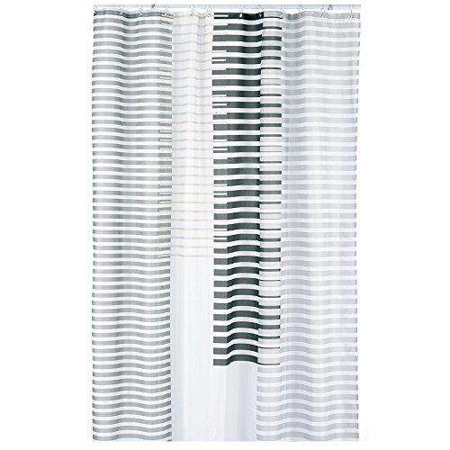 kela Duschvorhang Lamita 180x200cm aus Polyester in beige, 200 x 180 x 0.8 cm