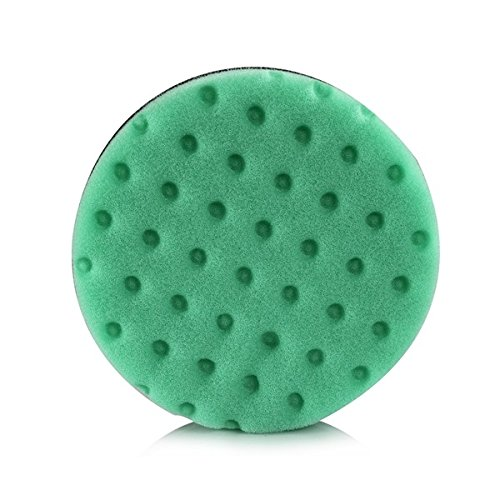 Lake Country CCSGRE5 Polishing/Finishing Pad, 5.5-inch Foam Pad, Green