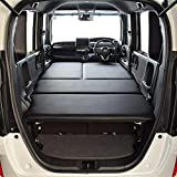 エヌボックス/N-BOX JF3/JF4 ベンチシート仕様 G・L・ターボ フルタイプ ベッドキット ブラックレザー/クッション材20mm 車中泊 ベッドキット