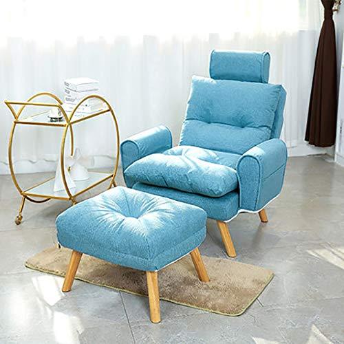 Nursing Glider Stuhl Sessel, Stillstuhl Mutterschaftsstuhl Mit Baumwoll-Leinen-Kissen, Klappstuhl Kleine Wohnung Home Kleines Einzelsofa