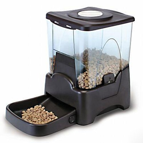 CE Compass Large Automatic Dog Cat Pet Feeder PrograMMable Portion Control W/LCD Display