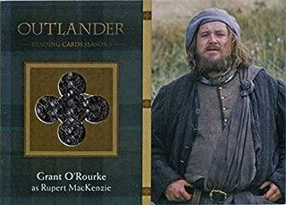 Outlander Season 1 Wardrobe Costume Card M17 Grant O'Rourke as Rupert MacKenzie