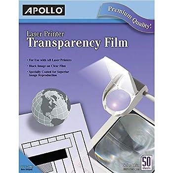 laser printer transparency film