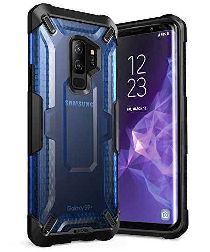 SupCase Unicorn Beetle Series Phone Case for Galaxy S9+ Plus, Premium Hybrid Protective Clear Case for Samsung Galaxy S9+ Plus 2018 Release(Frost/Blue)