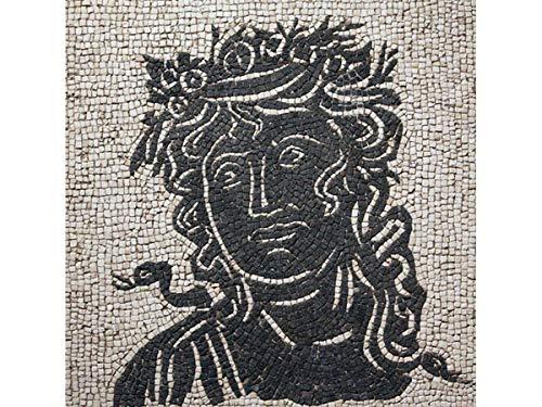 Kit de mosaico romano Las Estaciones. 4000 teselas cúbicas de 5mm. + herramientas. Tamaño terminado: 30x30 cm