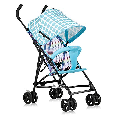 CJCJ-LOVE Poussette Bébé Go Out Ultra Léger Can Sit Été Chariot Léger Pliant Simple Portable Parapluie Enfant,B